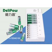 NI-MH AA AAA Battery Charger , 2800mAh Rechargeable Battery Set