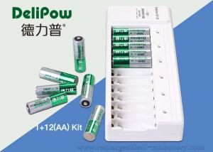 China NI-MH Aa Aaa Battery Charger , 2800mAh Rechargeable Battery Set on sale