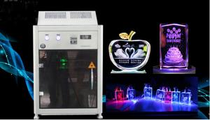 China 4000HZ 3D Crystal Laser Inner Engraving Machine 220,000 dots / Minute Speed on sale