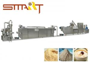 China Double Screw Extrusion Baby Food Making Machine For Infant Nutrition Powder on sale