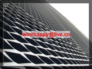 China PVDF Aluminum Expanded Metal Sun screening on sale