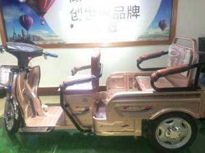 China Three Wheel Adult Electric Powered Tricycle With Passenger Seat 351-500w on sale