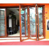 75 series  aluminum bi folding doors