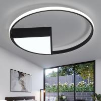 China Diameter 40 50 60 cm Ceiling Lights White or black frame for home lighting living room (WH-MA-78) on sale