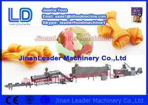 China 35KW Chewing Pet Food Processing Line Chewing / Jam Center Pet Food Machine on sale