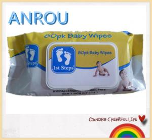 China 80 pcs wholesale baby wet wipes on sale