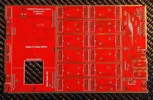 China 4 layer display module PCB, custom Pinted circuit pcb board 0.5 - 7.0 OZ copper thickness on sale