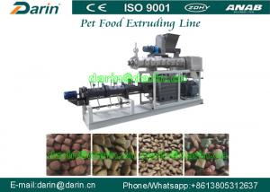 China Meat , Beans , Vegetable pet chewing food extrusion machine with Twin - screw on sale