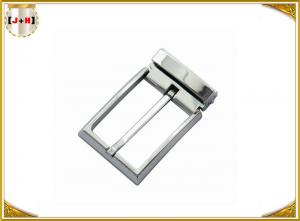 Quality Kilt Nickel Leather Formal Teeth Square Shaped Clip Pin Nickel Color Belt Buckle for sale