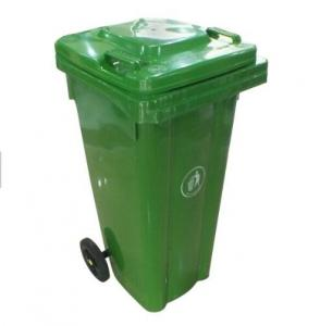 China Outdoor Plastic Molded Products , Recycling Commercial Garbage Cans With Lid on sale