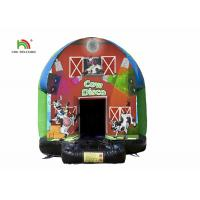 China Dome 3.5m Carton Printing Inflatable Jumping Castle Bounce House For Kids on sale