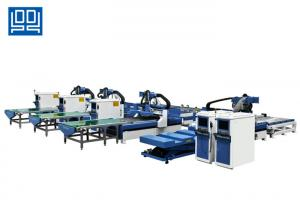 China High Performance Cnc Cabinet Production Line Panel Turnover Machine 40 Tools on sale