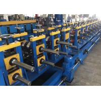 China Durable Roll Forming Equipment , Guard Rails Roll Forming Machine 2 Sets Of Punching Dies on sale