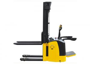 China Double Design Electric Pallet Truck Stacker With Initial Lift High Performance on sale