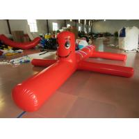 Fur Seal Cartoon Kids Water Inflatables 5 X 1m , Amusement Park airtight obstacles clown Blow Up Pool Toys