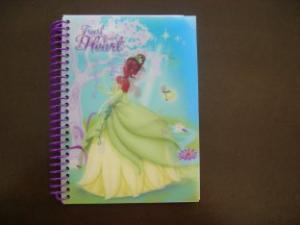 China Pink color cute notebook with spiral bind on sale