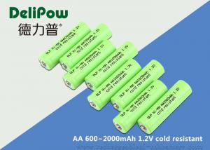 China Customized Capacity AA Low Temperature Rechargeable Batteries 1.2V on sale