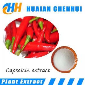 China Capsicum Extract,Capsaicin 0.5%-3% HPLC,Anti-inflammatory Red Chilli Extract Capsaicin on sale