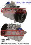 Compresseur d'a/c pour 7SBU16C PV9 1996-2002/2003 - Mercedes-Benz troque Actros