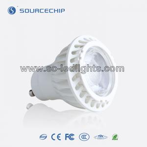 China 7W LED spot light gu10 led 2700k dimmable on sale
