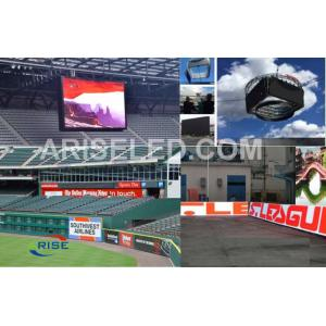 China Led electronic football scoreboards /Sport Perimeter Stadium LED display P5 P6 P8 P10 P12 on sale