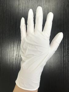 China Disposable Nitrile Powder Free Gloves Examination Latex Gloves 240mm Length on sale