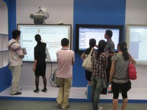 China El whiteboard interactivo elegante del tacto del finger de LABWE con CE, la FCC y RoHS certificó on sale