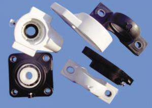 China Plastic Plain Bearings Block And HDPE Insert Bearings Light Weight on sale