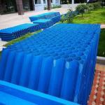 0.55mm PP PVC Hexagonal Honeycomb Inclined Tube Settler