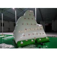 Giant White 0.9mm PVC Inflatable Water Toy Amazing Inflatable Floating Iceberg