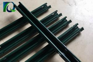 China 2.4M Height Vineyard Steel Grape Trellis Posts With Green Color Powder Coated on sale