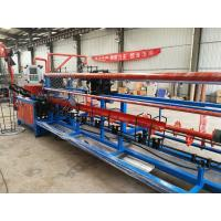China Fully Automatic Chain Link Fence Weaving Machine Double Wire Feeding on sale