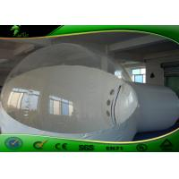 Custom Clear Inflatable Bubble Tent , Outdoor Inflatable Tent For Camping