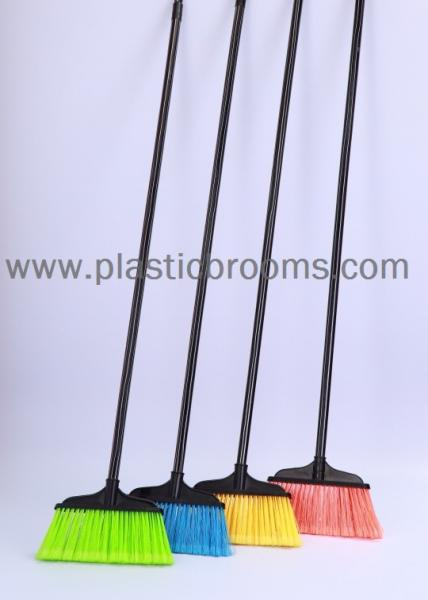 wooden long handle plastic industrial brooms indoor for floor rh plasticbrooms sell everychina com