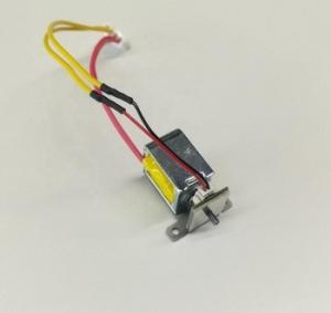 China DC 5V 4.1W Push Pull Electric Solenoid Bolt Lock With Test Switch on sale