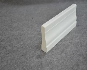Single Mould PVC Trim Boards , Uv-Proof Woodgrain Exterior Window