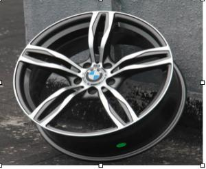 China high performance 18 inch BMW Replica Wheel Grey Machine Face Aluminum Alloy Wheel on sale