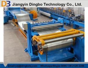 China Hydraulic Motor Steel Slitting Line Steel Coil Slitting Machine 40M/Min Cutting Speed on sale