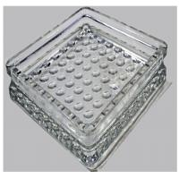 190x190x32mm glass material floor decorative paver block