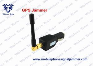 China Compact Structure GPS Tracker Jammer , Car GPS Blocker 21dbm / 128mW Output Power on sale