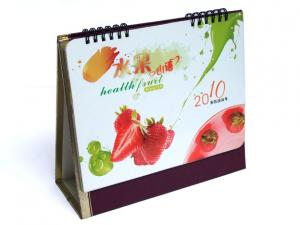 China Desktop Customized Calendar Printing Service in CMYK or PMS Color for advertising on sale