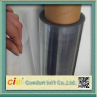 Transparent 100 PVC Self Adhesive Film , Cold Lamination PVC Decorative Film
