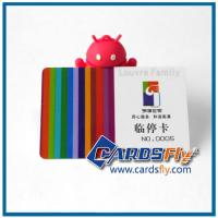 China plastic loyalty card on sale