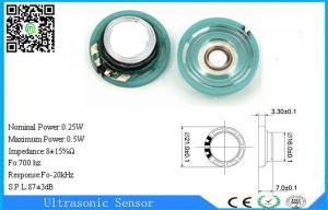 China Outdoor RoHS Waterproof Mini Mylar Speaker 8 Ohm Loudspeaker 700Hz on sale