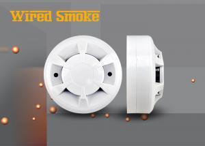China Trabalho fotoelétrico do fabricante do alarme de incêndio do detector de fumo do cigarro do fio em DC9-36V on sale