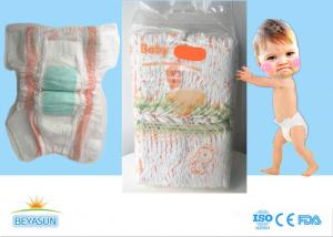 China Baby Products Natural Disposable Diapers With PP Tapes , Eco Friendly on sale