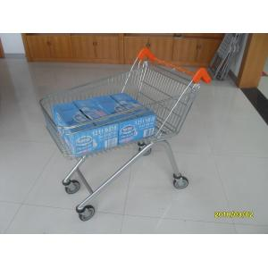 China Low Carbon Zinc Plated clear coating Steel UK Shopping Cart 100L on sale