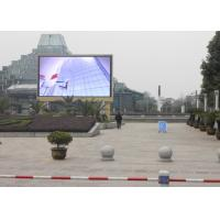 Customized Outdoor Full Color LED Display HD , LED Video Board High Resolution