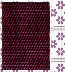 China Embossed Pattern PU Coating Fabric with Waterproof, Elastic for Home Textile, Decorative on sale
