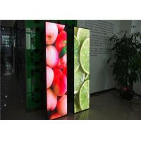 China Advertising Signage LED Poster Display Screen Stand For Showcase on sale